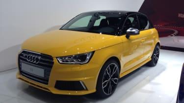 Audi S1 at geneva front