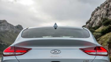 Hyundai i30 Fastback - rear detail