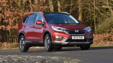 Honda CR-V long-termer - cornering front