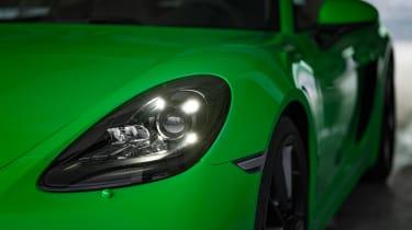 Porsche 718 Cayman GTS 4.0 - front lights