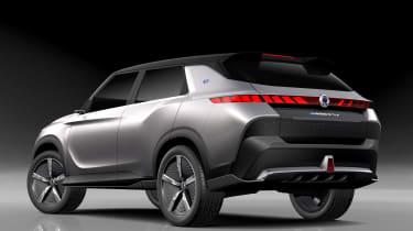 SsangYong e-SIV concept - rear