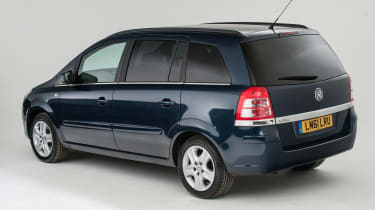 Used Vauxhall Zafira - rear