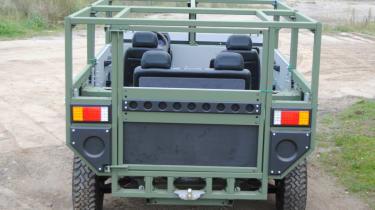 New Partisan One - rear door