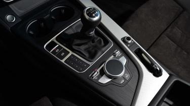 New Audi A4 2016 centre console
