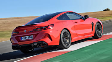 BMW M8 - rear action