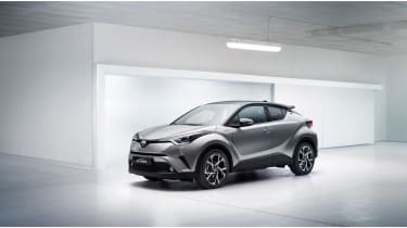 Toyota C-HR - front three quarter