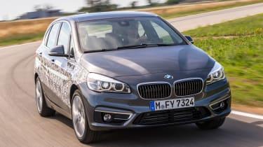 BMW 2 Series Active Tourer eDrive - front action