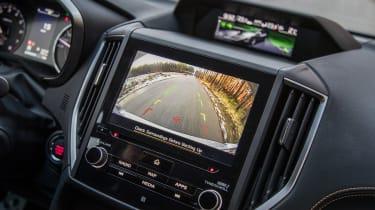Subaru XV - reversing camera