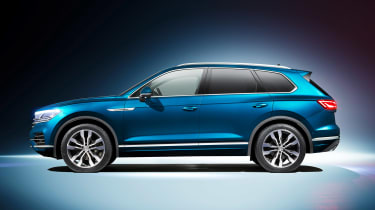 Volkswagen Touareg - side static