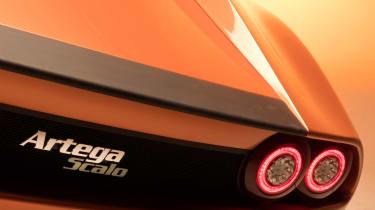 Artega Scalo Superelletra by Touring - rear detail