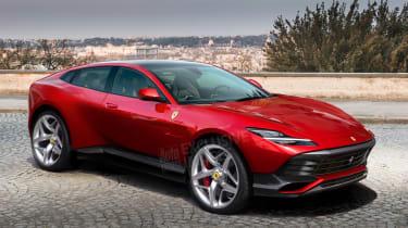 Ferrari Purosangue final