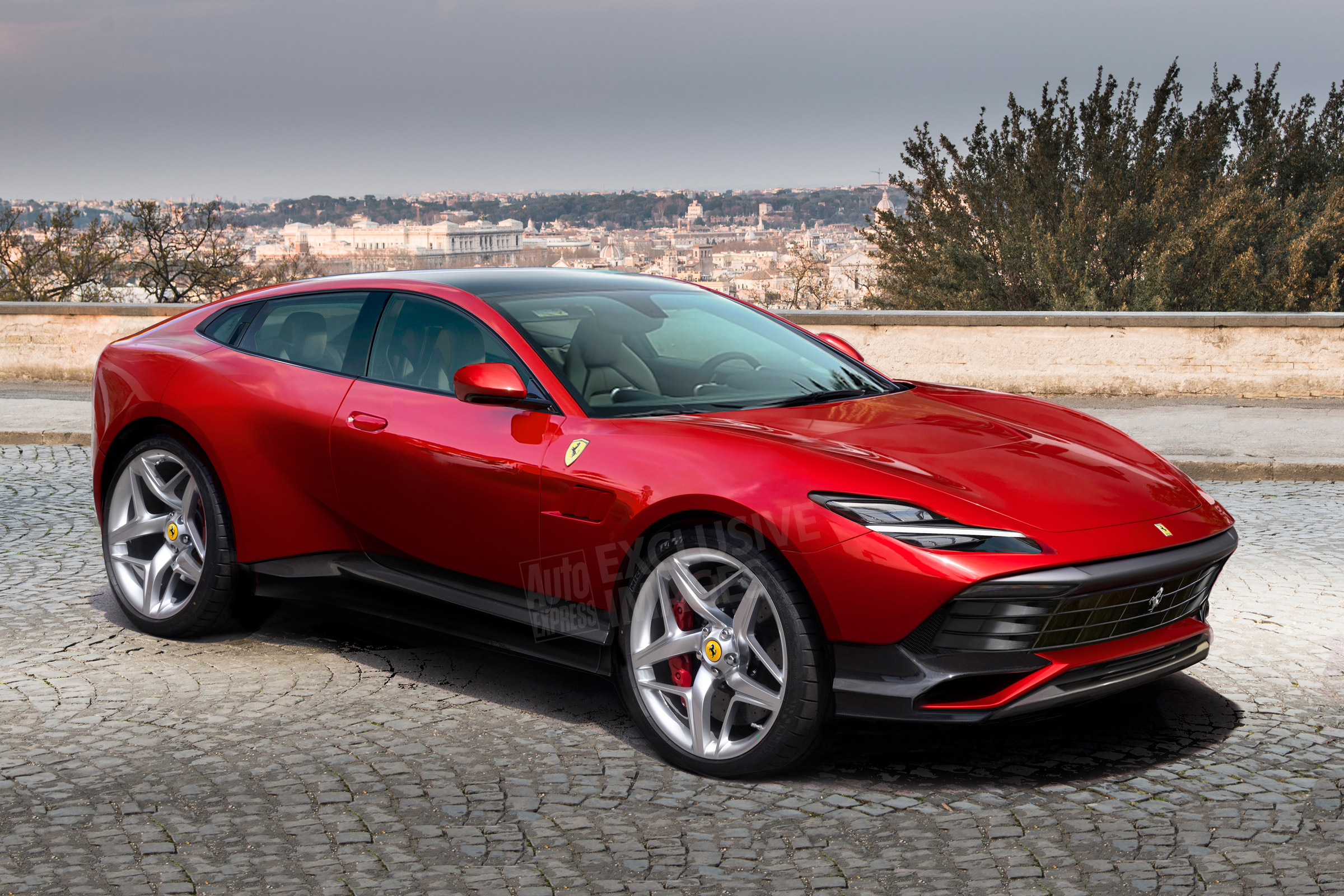 New 2021 Ferrari Purosangue SUV: design, specs and price ...