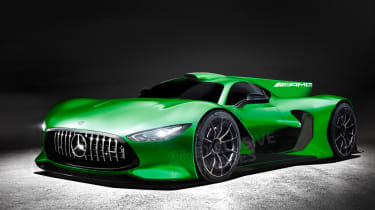 Mercedes-AMG Project One hypercar - exclusive image