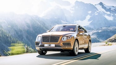 Bentley Bentayga SUV front 3