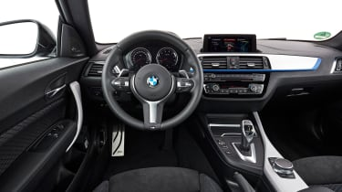 BMW M240i Coupe facelift review - interior
