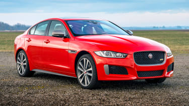 Jaguar XE and XF launched - front