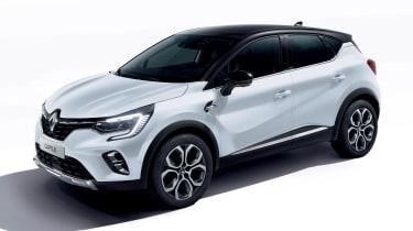 Renault Captur E-Hybrid - front