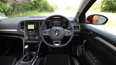 Renault Megane diesel - dash