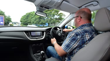 Vauxhall Grandland X - driving
