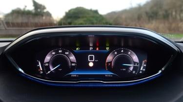 New Peugeot 3008 facelift 2020 instruments