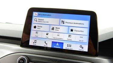 Long term review: Ford Focus Titanium X - navigation