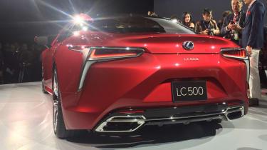 Lexus LC500 - rear show