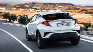 Toyota C-HR - rear action
