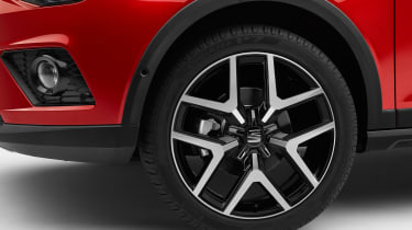 SEAT Arona wheel - sponsored