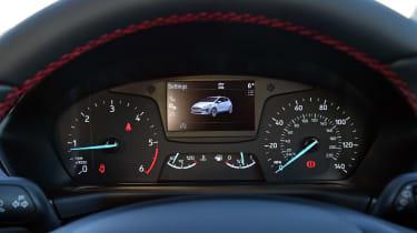 Ford Fiesta Sport Van dials