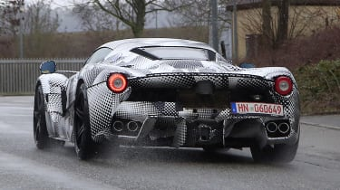 Ferrari hypercar - spyshot 10