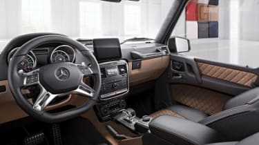 Mercedes-AMG G 65 Exclusive edition - interior