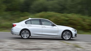 BMW 3 Series - side action