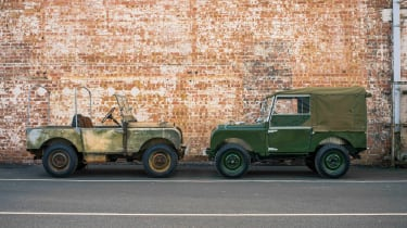 Land Rover Series 1 Reborn - side