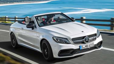 Mercedes-AMG C 63 Cabriolet - front
