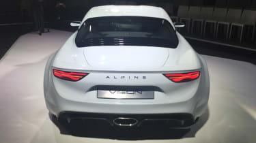 Renault Alpine Vision concept - show reveal rear