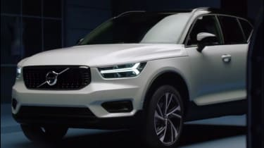 Volvo XC40 leaked - front