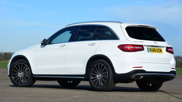 Mercedes GLC - rear static
