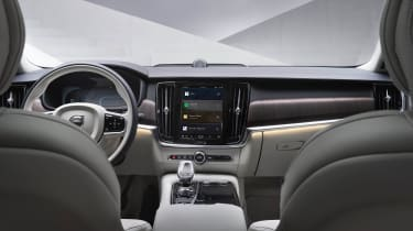 Volvo XC60 facelift - interior