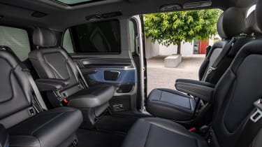 Mercedes EQV - interior