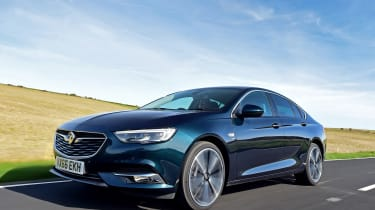Vauxhall Insignia Grand Sport - front action