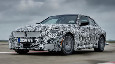 BMW 2 Series Coupe prototype - front