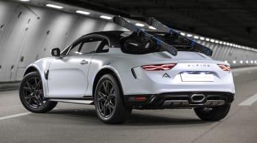 Alpine A110 SportsX - rear