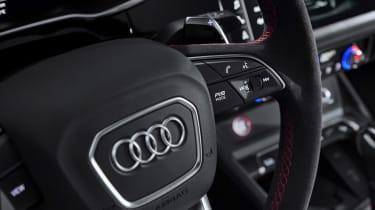 Audi RS Q3 - steering wheel