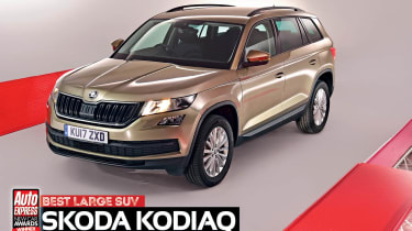Large SUV of the Year 2017 - Skoda Kodiaq