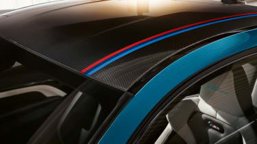BMW M4 M Heritage Edition - roof stripes
