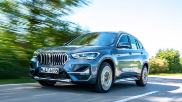BMW X1 - front tracking