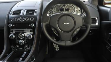 Aston Martin DBS Carbon Edition dash