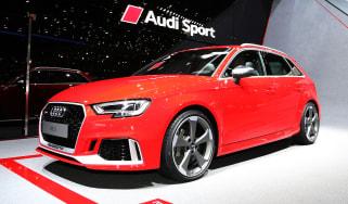 Audi RS3 Sportback 2017 - Geneva front quarter