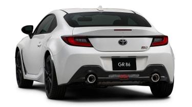 Toyota GR86 white