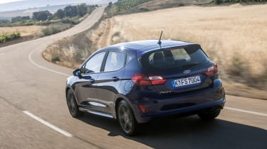 Ford Fiesta ST-Line - rear tracking